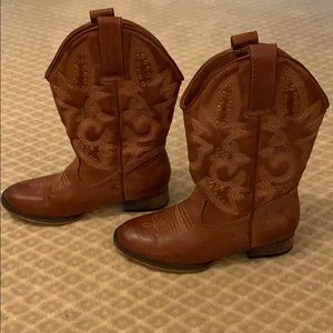 GIRL'S COWBOY BOOTS - Great Used Condition